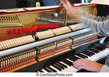piano, afinación