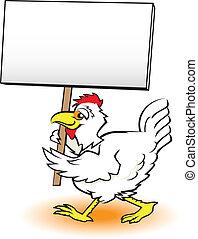 Picando pollo