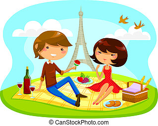 picnic, romántico