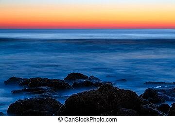 Piedra de Coquina al amanecer
