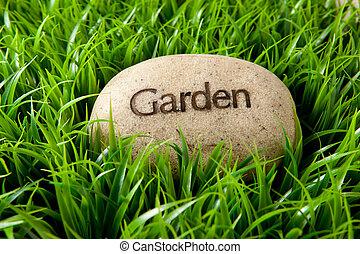 Piedra de jardín