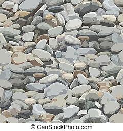 piedra, río, plano de fondo