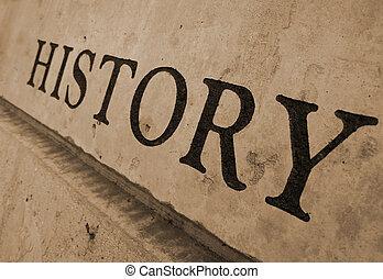 piedra, tallado, historia