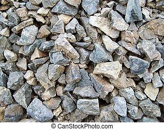 Piedras afiladas