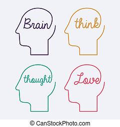 Piensa, Diseño