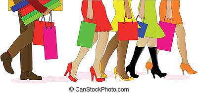 piernas, compras