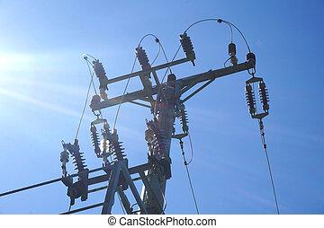 Pilón eléctrico