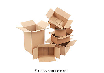 pila, vacío, boxes.