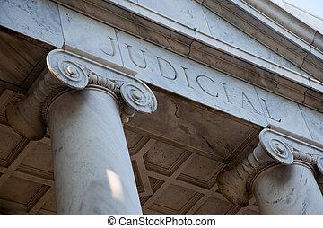 pilares, judicial, palacio de justicia