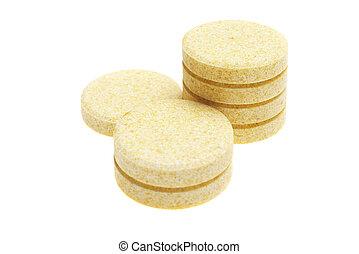 Pills de fondo blanco