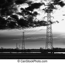 Pilones eléctricos