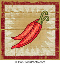 pimienta de retro chile