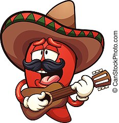 Pimienta picante mexicana