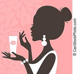 (pink, cara, series), crema