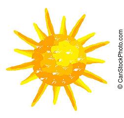 Pintó el sol