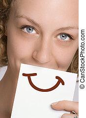 Pinta una sonrisa