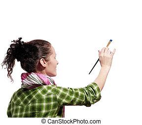 Pintor femenino