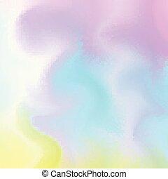 Pintura acuática mezclada en superficie húmeda. Fondo abstracto suave en estilo aqua. Ilustración de vectores. Una plantilla futurista para la boda, aniversario, invitación