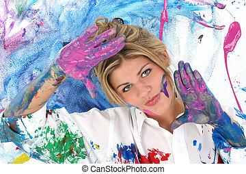 Pintura adolescente