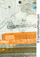 Pintura de aceite textura