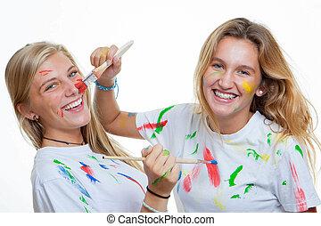 Pintura de adolescentes