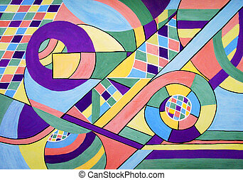 pintura, geometría, resumen