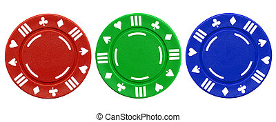 Pinturas de póquer.