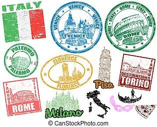 Pinzas con italia