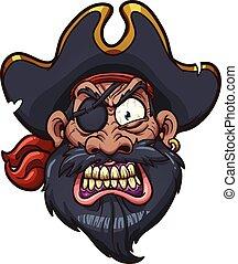 Pirata enojada