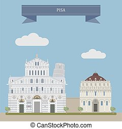 pisa, italia, central
