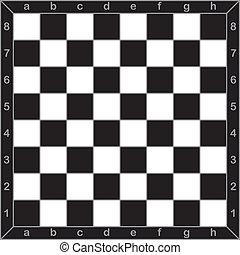 pizca, tabla, estilo, ajedrez