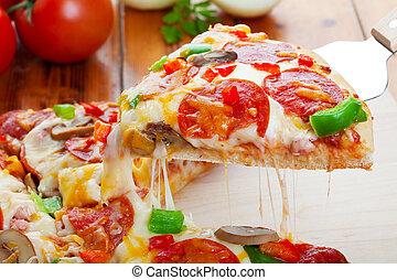 Pizza de lujo