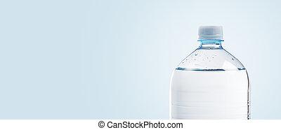 plástico, plano de fondo, botella