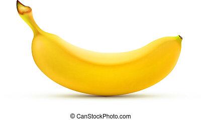 plátano, amarillo
