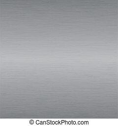 Placa de acero cepillado