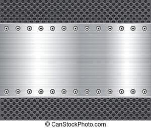 Placa de metal 2