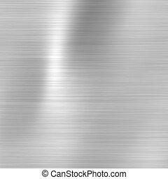 Placa metálica de acero