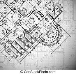 plan, arquitectónico