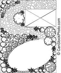 Plan de jardín