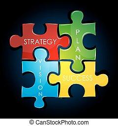 plan, estrategia, empresa / negocio