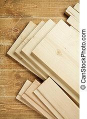 Planchas de madera