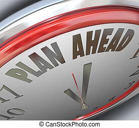 Planear la estrategia futura de planificación del horario de trabajo