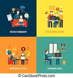 plano, coworking, centro