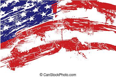 plano de fondo, bandera estadounidense