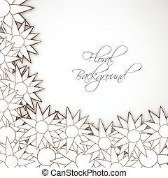 plano de fondo, floral