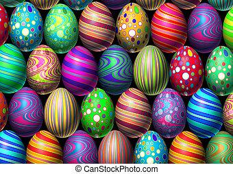 plano de fondo, huevo de pascua