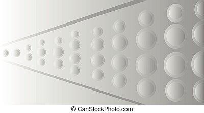 plano de fondo, líneas, blanco, ondulado, vector, puntos