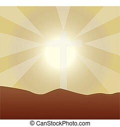 plano de fondo, luz del sol