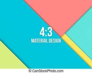 plano de fondo, moderno, material, excepcional, diseño