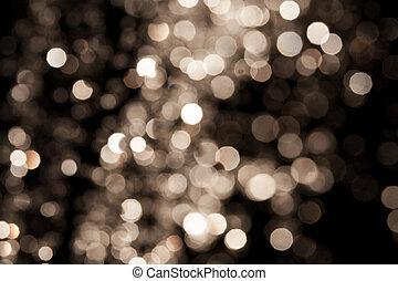 plano de fondo, oro, festivo, elegante, luces, resumen, fondo., bokeh, defocused, estrellas, navidad